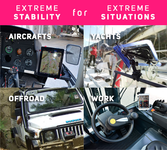 Airmade-x-support-extreme-stabilty