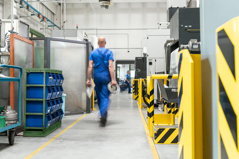 produzione CNC di ultima generazione